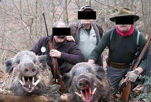 شکارچی غیرمجاز