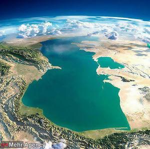 عکس/ نمایی هوایی و کمنظیر از دریای خزر
