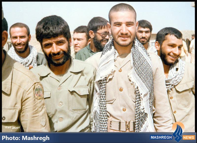 حاج عباس کریمی در جمع بسیجیان