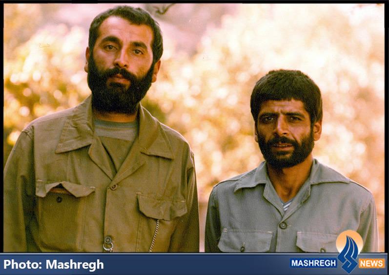 حاج عباس کریمی و شهید حاج محمد عبادیان