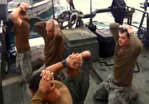 سربازان دستگیرشده یی