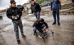 پهپاد مسلح در جنگ علیه داعش