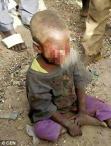 مجازات وحشیانه کودک به خاطر شبادراری