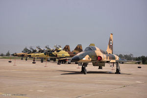 عکس/ افتتاح نمایشگاه هوایی راهیان نور