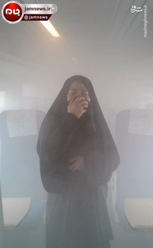 آتش سوزی در قطار تهران - مشهد!