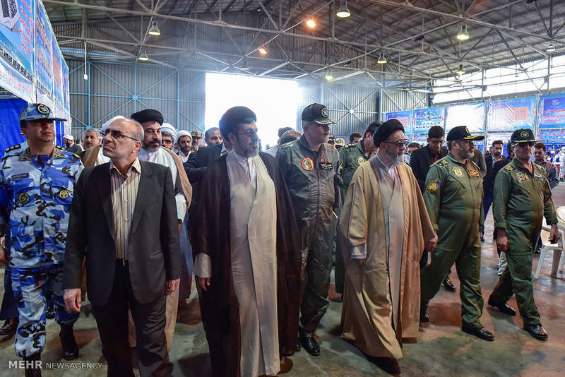 افتتاح نمایشگاه هوایی راهیان نور