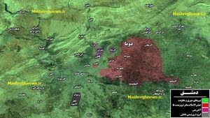 نقشه القابون سوریه