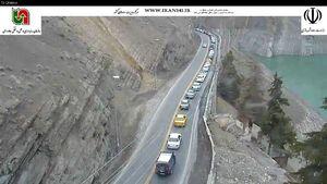 ترافیک امروز محور کرج-چالوس