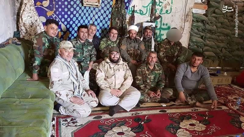 فرماندهان میدانی بسیج مردمی عراق در عملیات موصل