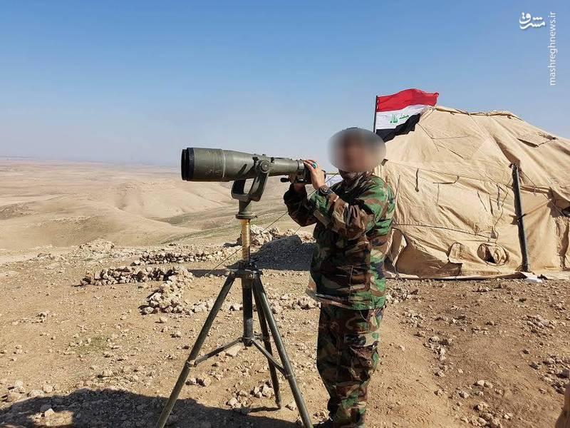 رصد تحرکات داعش توسط نیروهای ارتش