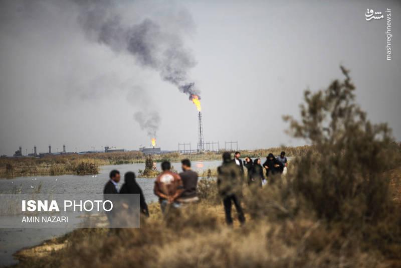 آبگیری ۷۰ درصدی هورالعظیم در خوزستان