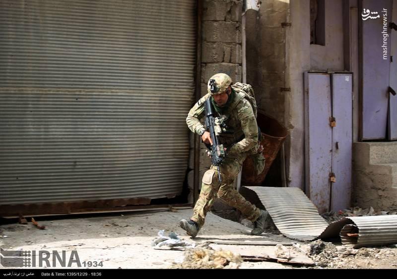 حمله ارتش عراق به سوراخ ها داعش