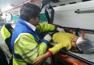 سقوط اتوبوس به دره در یاسوج با ۲ کشته و ۹ مصدوم