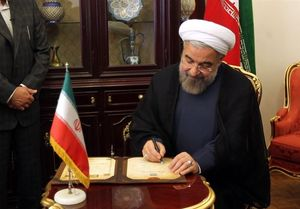 پیام تبریک نوروزی روحانی به سران ۱۱ کشور منطقه