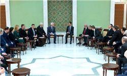 دیدار هیئتهای پارلمانی روسیه و اروپا با بشاراسد