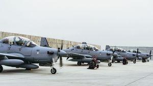 افغانستان ضعف نیروی هوایی خود را رد کرد