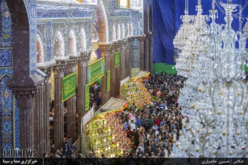 مراسم تحویل سال نو در کربلای معلی
