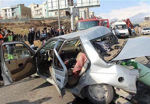 واژگونی خودرو اتباع غیرمجاز