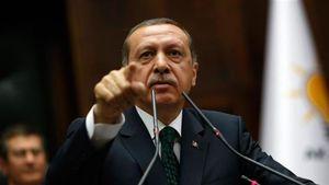 اردوغان خشمگین