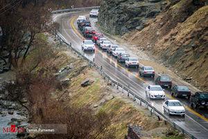 پرهیز از سفرهای غیرضروری در جاده چالوس