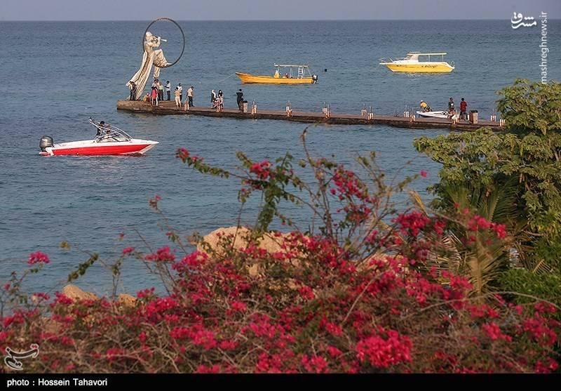 بهار در جزیره کیش