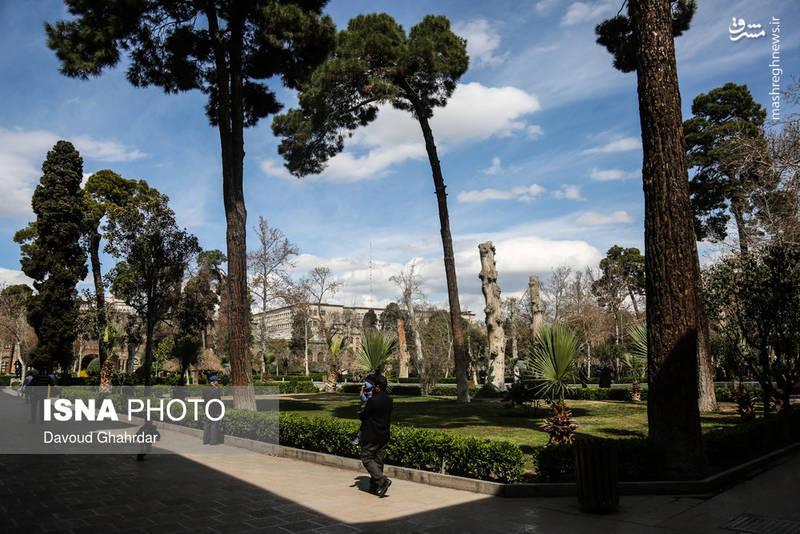 کاخ گلستان در نوروز 1396