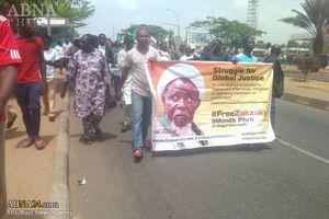 شیعیان نیجریه در ابوجا خواستار آزادی شیخ زکزکی شدند