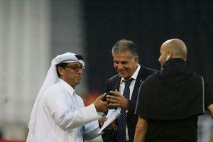 عکس/چهره خندان کیروش قبل از دیدار با قطر