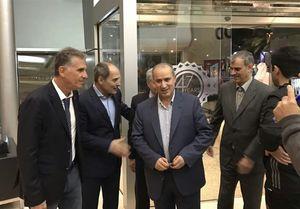 دیدار رئیس فدراسیون فوتبال با کیروش