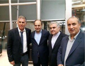 عکس/ کیروش در کنار سفیر ایران در قطر