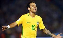 جشنواره گل برزیل در خانه اروگوئه/ آرژانتین با گل مسی شیلی را شکست داد +جدول