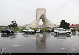 باران در تهران