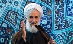خطیب موقت نماز جمعه تهران: داعش باعث تعمیق نفوذ سیاسی و نظامی ایران در منطقه شد/ ترامپ یک شرور بدون نقاب و روسای قبلی آمریکا شرور با نقاب بودند