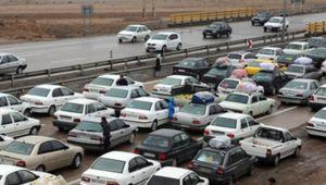 وضعیت ترافیکی جادهها در روز ۱۲ فروردین