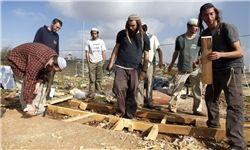 ادامه شهرکسازی صهیونیستها در کرانه باختری