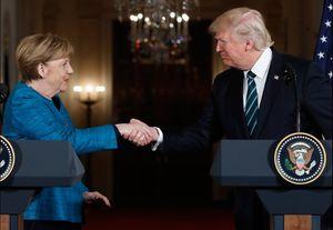 آمادگی مرکل برای مواجهه با دستدادنهای خاص ترامپ در کاخ سفید