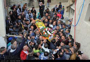 عکس/ تشییع پیکر شهید شانزده ساله فلسطینی