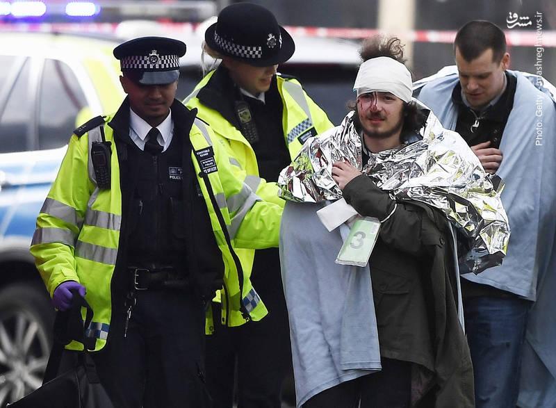 مرگ پنج تن بر اثر وقوع حمله تروریستی در لندن