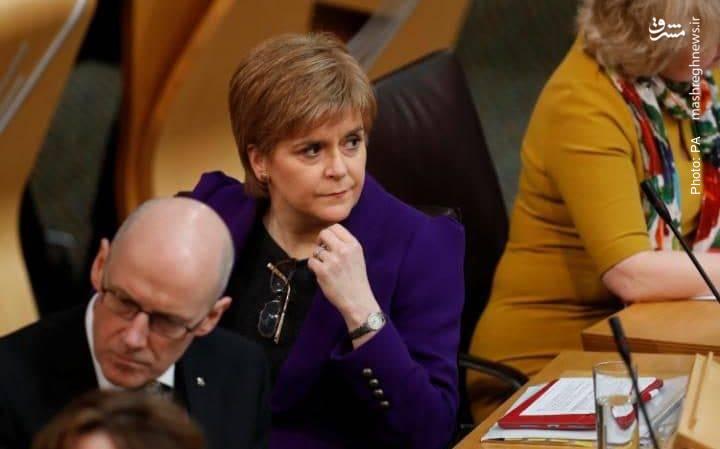 نیکولا استرجن وزیر اول اسکاتلند در حال رایزنی با پارلمان برای برگزاری دومین همهپرسی استقلال از بریتانیا