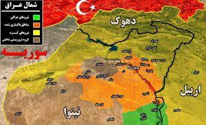آزادی محله «البان» در غرب موصل