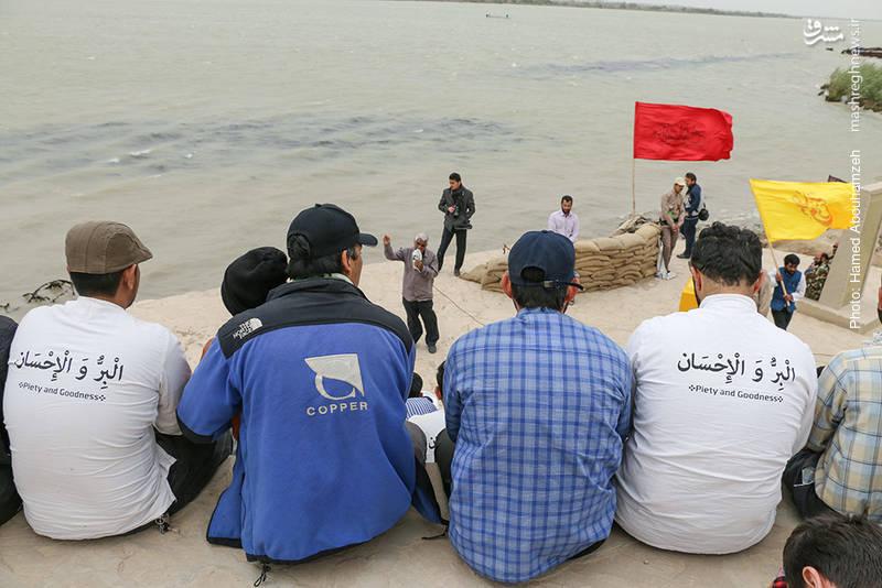 حضور طلاب غیر ایرانی در اردوی راهیان نور