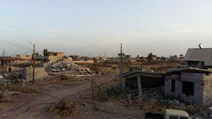 مناطق ویران شده استان کرکوک عراق
