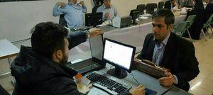 عکس/ثبتنام سخنگوی سازمان آتش نشانی در انتخابات شورای شهر
