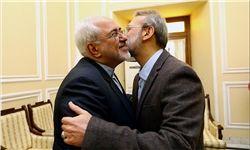 دیدار نوروزی لاریجانی با برخی مقامات کشوری و لشکری