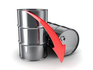 کاهش قیمت نفت در بازار جهانی