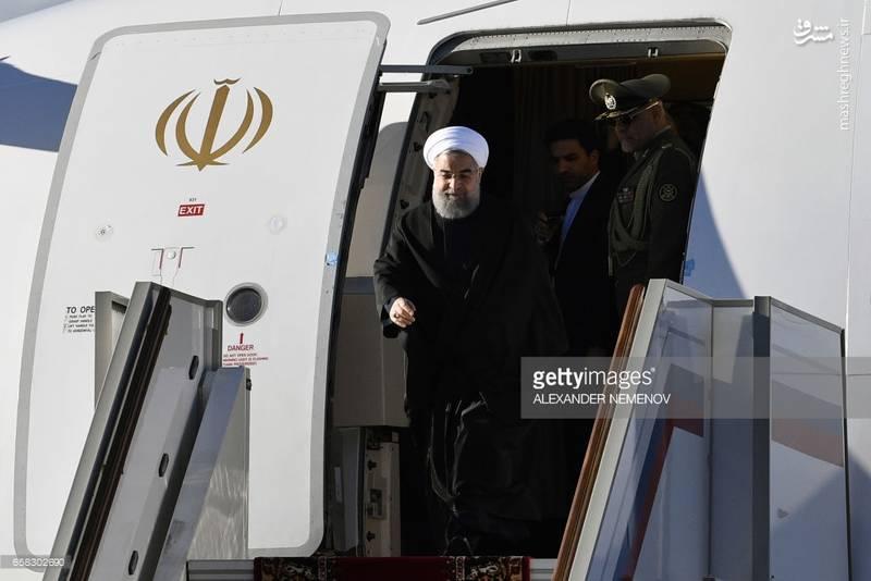 سفر دکتر روحانی به روسیه