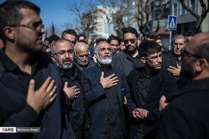 عکس/ تشییع پیکر شهید حسین معز غلامی
