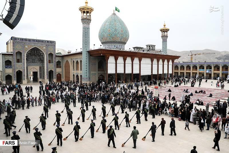مسافران نوروزی/ شیراز، بهار 96