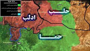 تروریستها در شمال حماه متوقف شدند