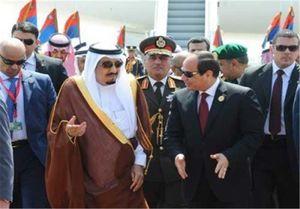 دیدار سلمان و السیسی در حاشیه نشست سران اتحادیه عرب